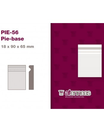 PIE BASE Prepintado Blanco...