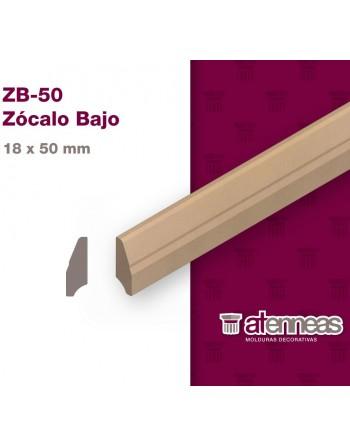 ZÓCALO BAJO MDF CRUDO ZB-50...
