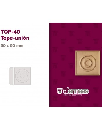TOPE UNION MDF CRUDO TOP-40...