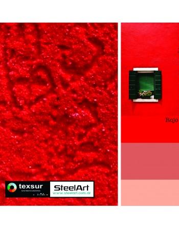 Revestimiento Plástico - Rojo