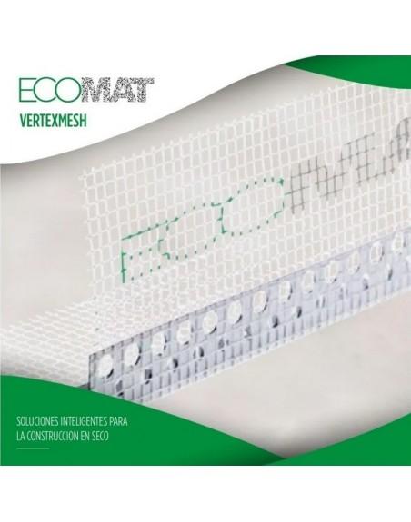 CUBRECANTO PVC con malla ECOMAT VERTEXMESH