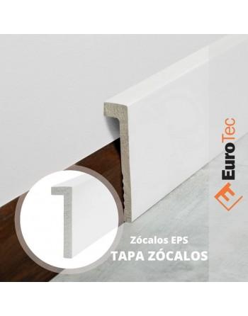 TAPA ZOCALO PVC BLANCO...