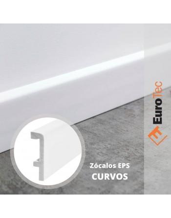 ZOCALO PVC BLANCO CURVO...